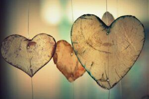 only love exists, hearts