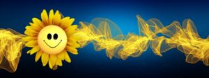 happiness, sunflower, frequency