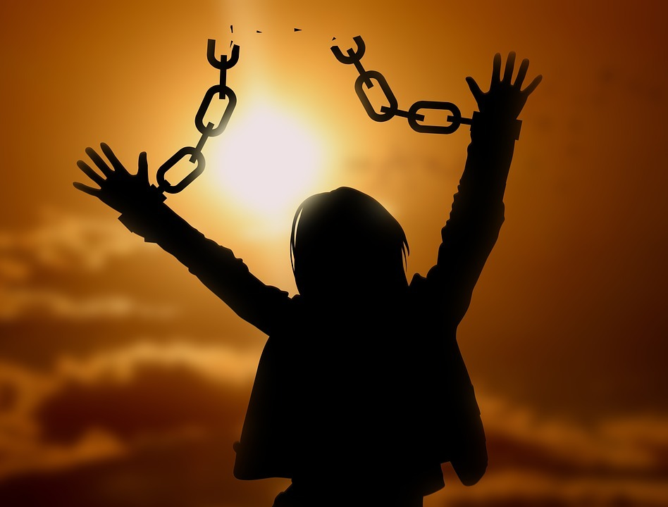 freedom .broken chains, How To Be Free Of Fear?